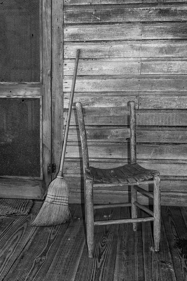 Cross Creek Broom And Chair Photograph