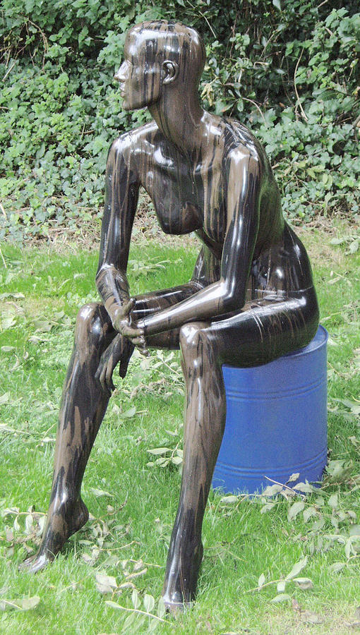 Crude Nude Sculpture
