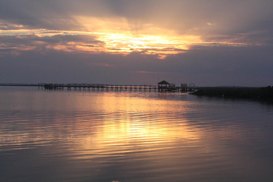 Currituck Sound Sunset Photograph  - Currituck Sound Sunset Fine Art Print
