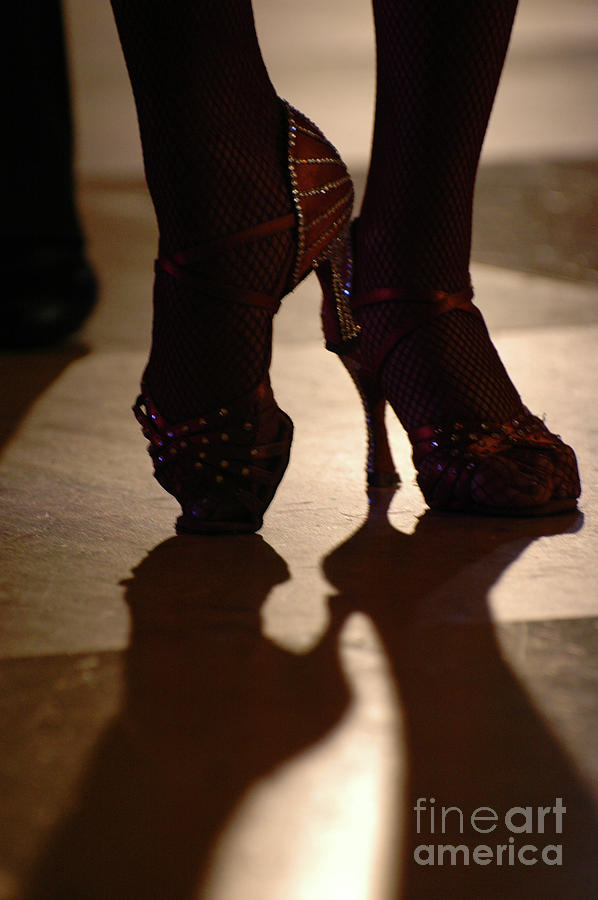 Dancing Shoes Photograph  - Dancing Shoes Fine Art Print