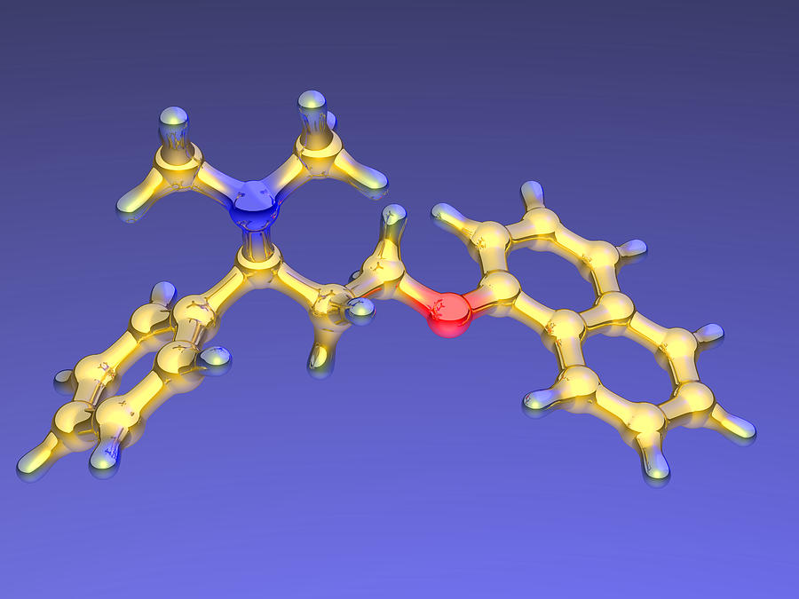 Dapoxetine Photograph - Dapoxetine Premature Ejaculation Drug by Dr Mark J. Winter