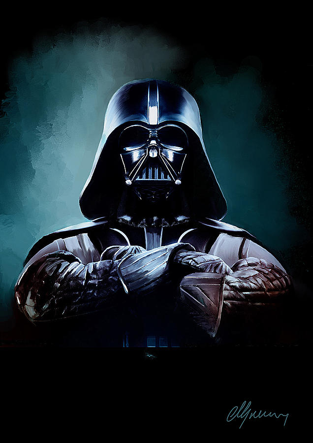 Darth Vader Star Wars  Painting