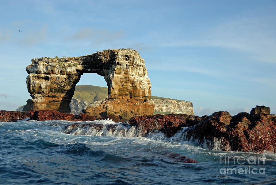 Motion Photograph - Darwins Arch by Sami Sarkis