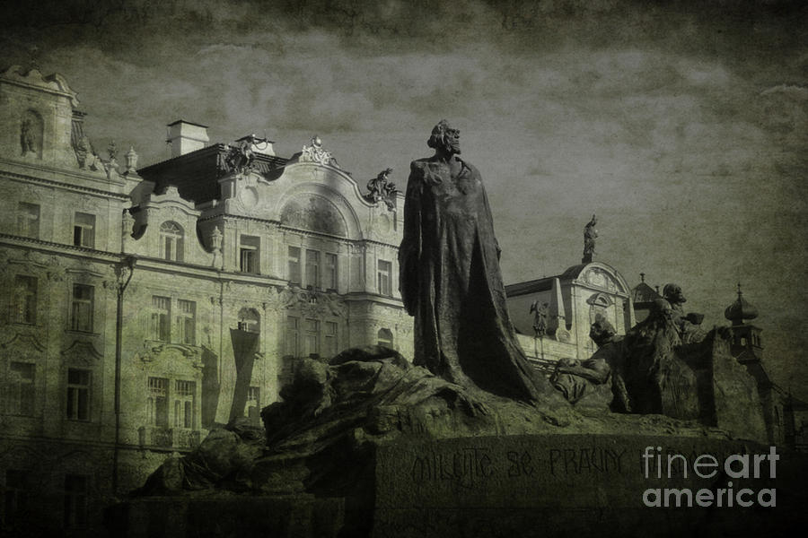 Death In Prague Photograph  - Death In Prague Fine Art Print