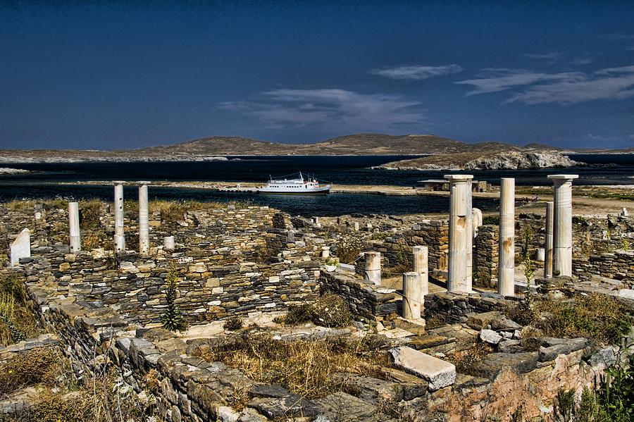 Delos Island Photograph