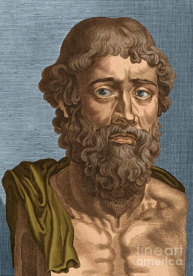 Demosthenes, Ancient Greek Orator Photograph