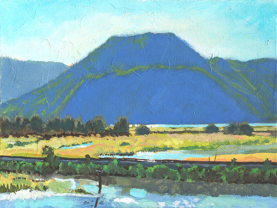 Derr Mountain Painting  - Derr Mountain Fine Art Print