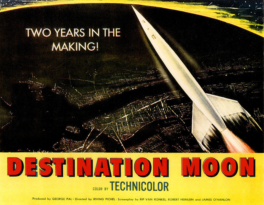 Destination Moon, 1950 Photograph  - Destination Moon, 1950 Fine Art Print