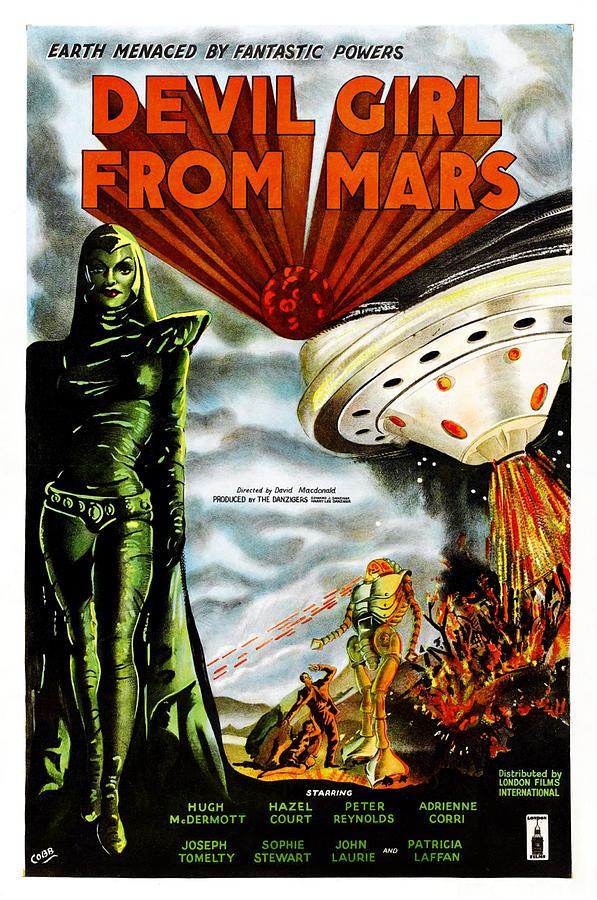 Devil Girl From Mars, Patricia Laffan by Everett Patricia Laffan Interview