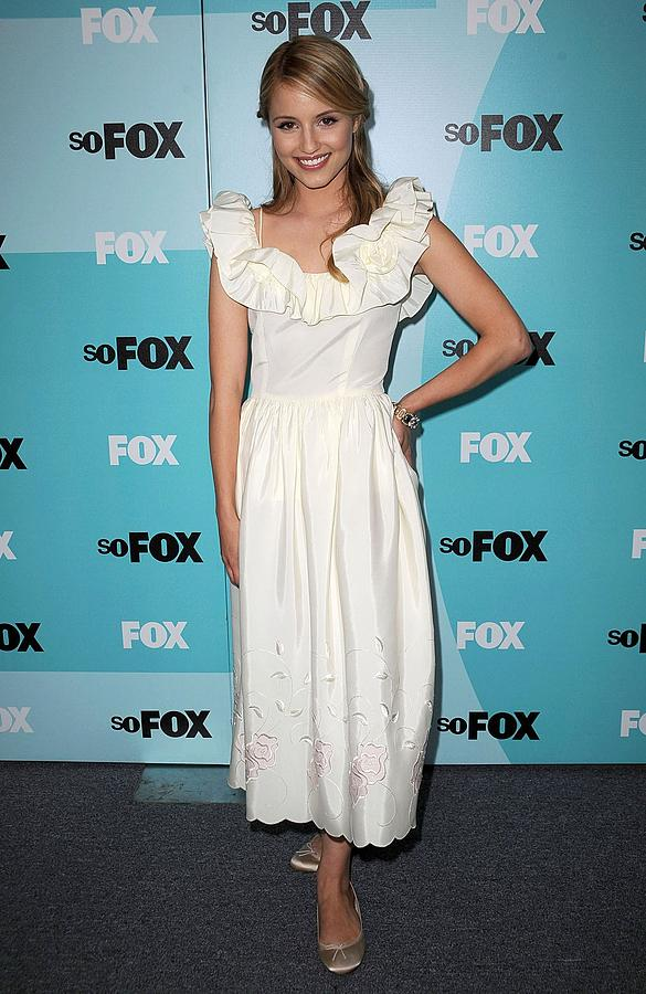 Dianna Agron At Arrivals For Fox Photograph  - Dianna Agron At Arrivals For Fox Fine Art Print