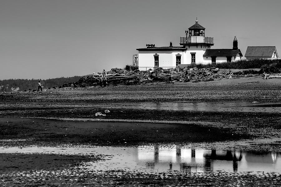 Discovery Park Lighthouse Photograph  - Discovery Park Lighthouse Fine Art Print
