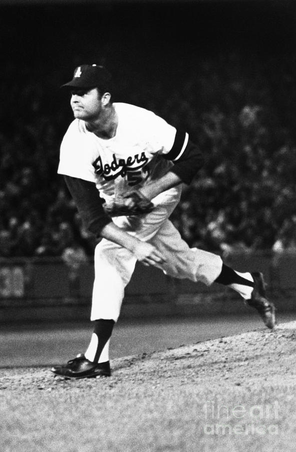 Don Drysdale (1936-1993) Photograph  - Don Drysdale (1936-1993) Fine Art Print