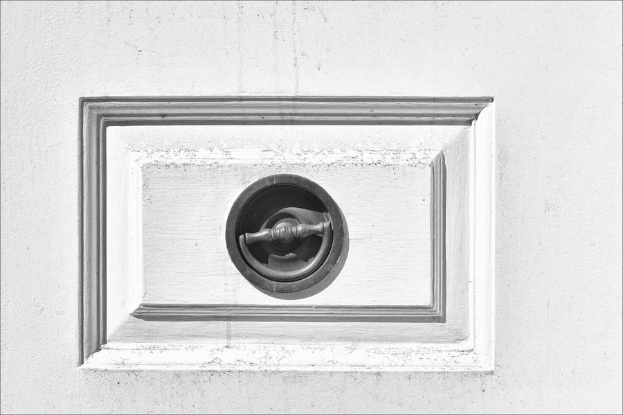 Door Handle Pastel  - Door Handle Fine Art Print