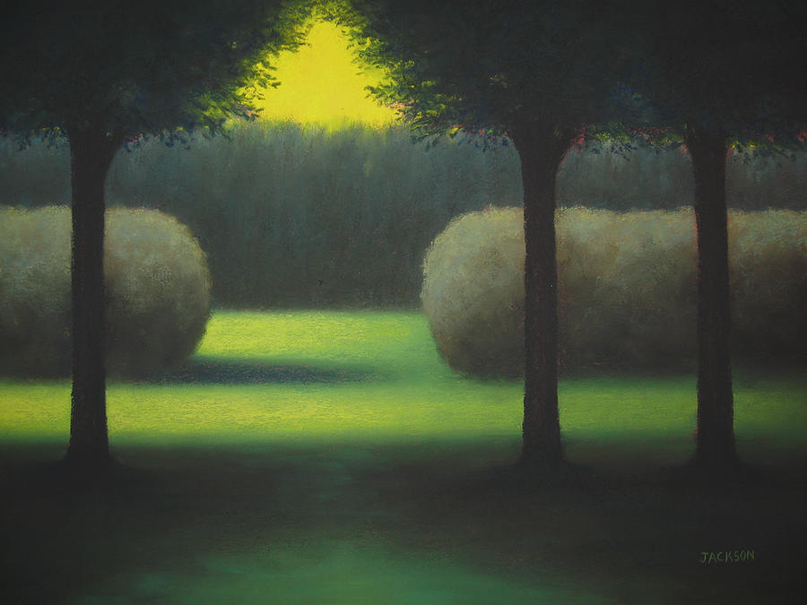 Dream Park Painting  - Dream Park Fine Art Print