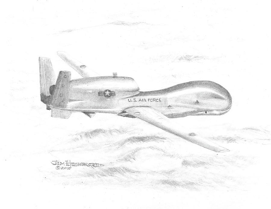 Drone Rq-4 Global Hawk Drone Rq-4 Global Hawk DrGlobal Hawk Drawing