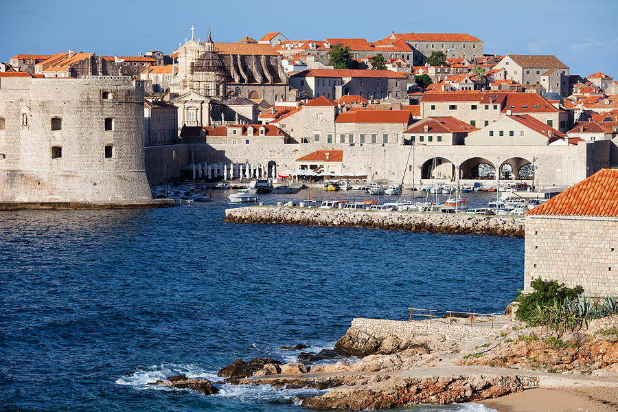 Dubrovnik Old City Architecture Photograph