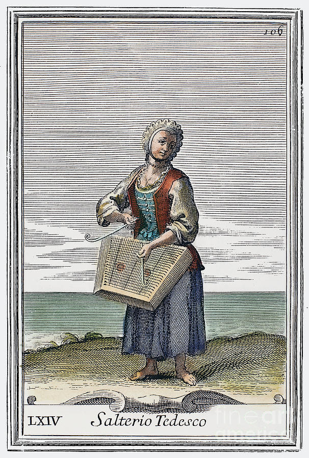 Dulcimer, 1723 Photograph