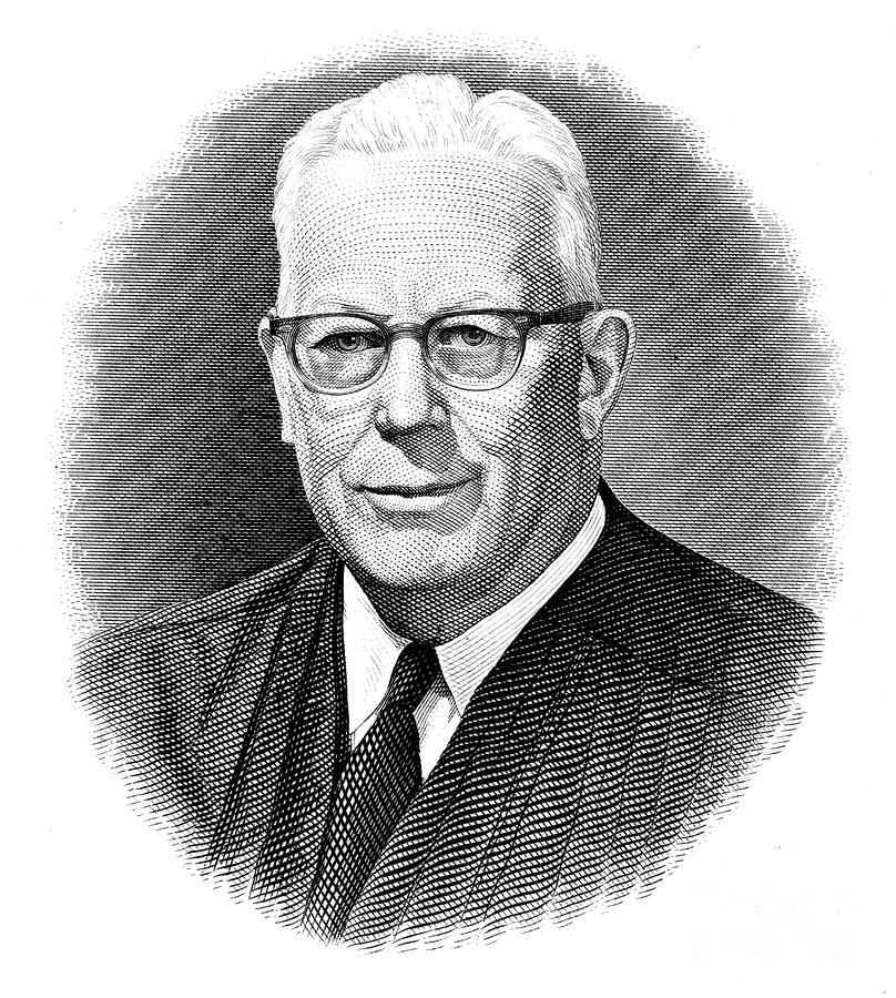 Earl Warren (1891-1974) Photograph  - Earl Warren (1891-1974) Fine Art Print