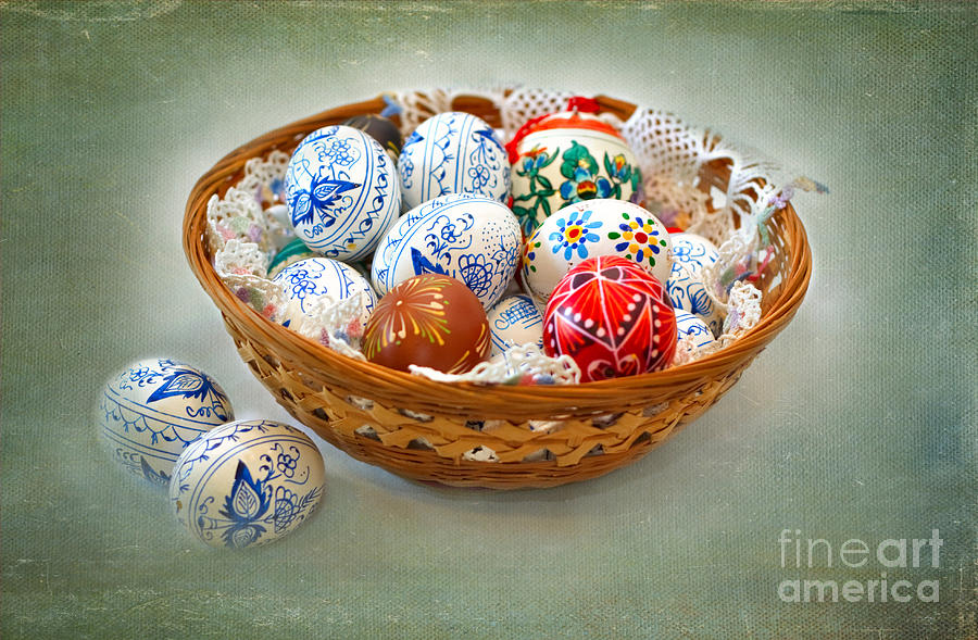 Easter Eggs Photograph  - Easter Eggs Fine Art Print
