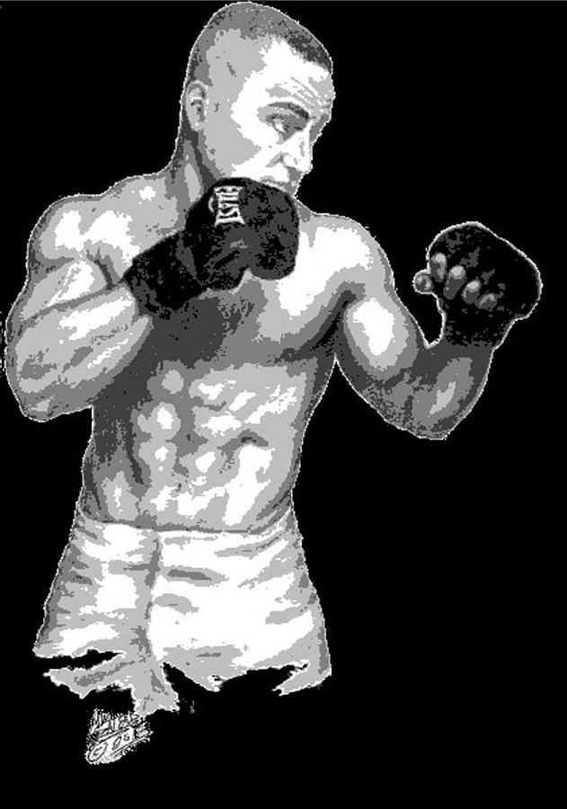 Eddie Alvarez - Bellator Champion Drawing