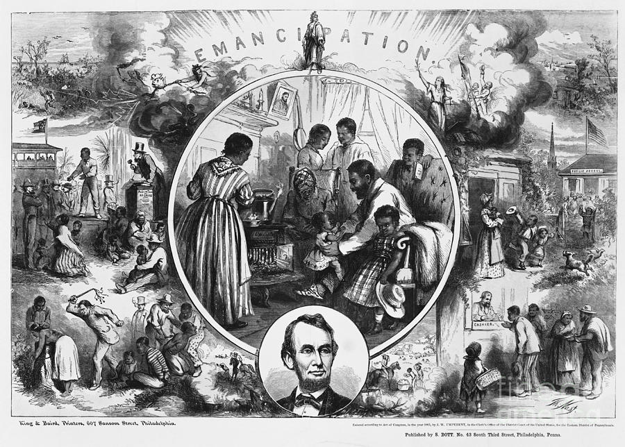 Effects Of Emancipation Proclamation Photograph