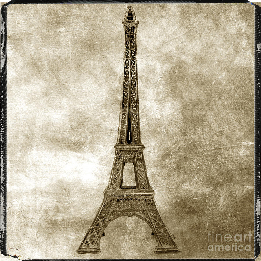 Eiffel Tower. Paris Photograph  - Eiffel Tower. Paris Fine Art Print