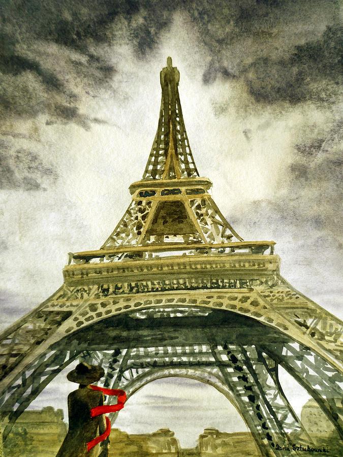 Eiffel Tower Paris Painting