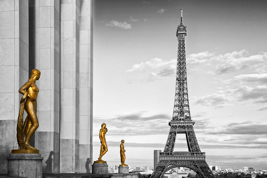 Eiffel Tower Paris Trocadero Photograph