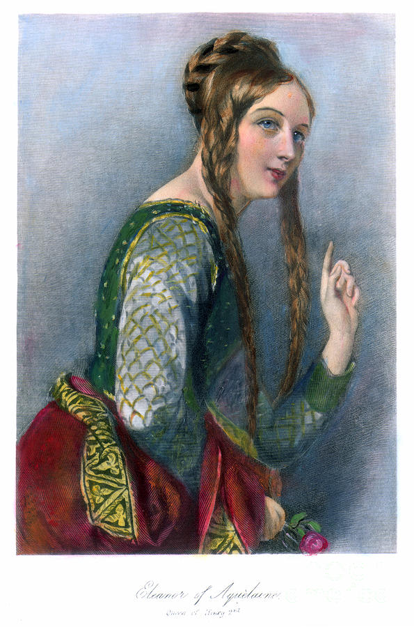 Eleanor Of Aquitaine Fascinating Woman A Medieval Woman