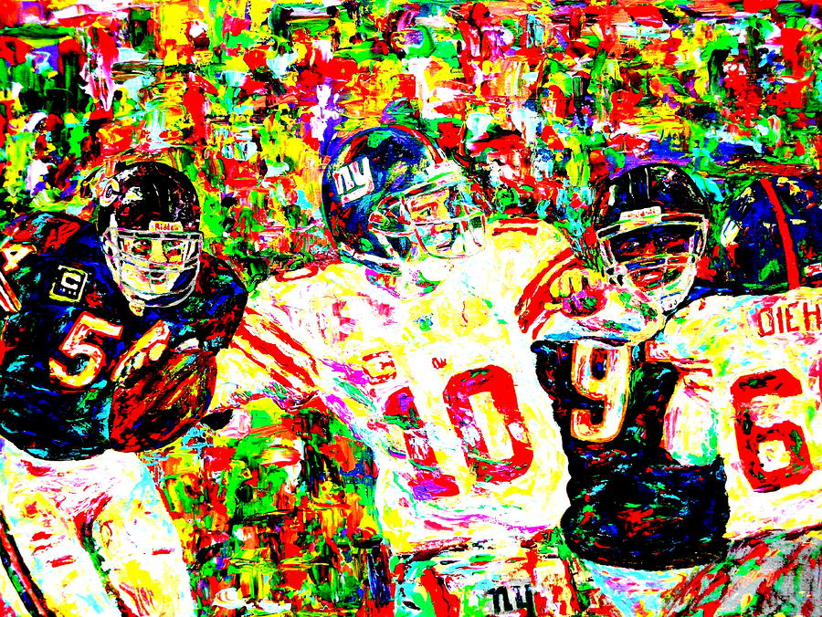 Eli Manning Painting