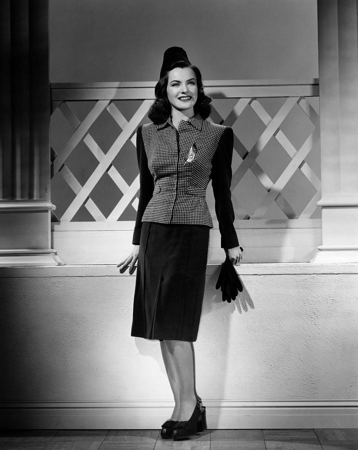 Ella Raines, 1944 Photograph