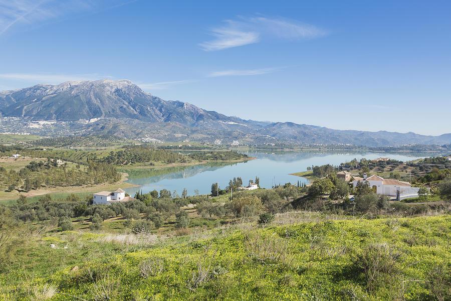 Embalse De La Viñuela, Vinuela Reservoir, Spain Photograph