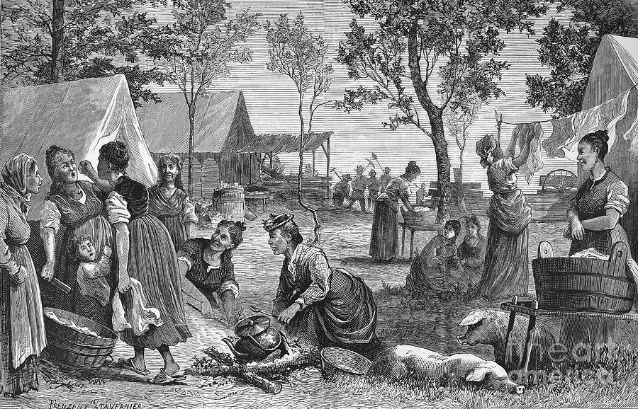Emigrants: Arkansas, 1874 Photograph  - Emigrants: Arkansas, 1874 Fine Art Print