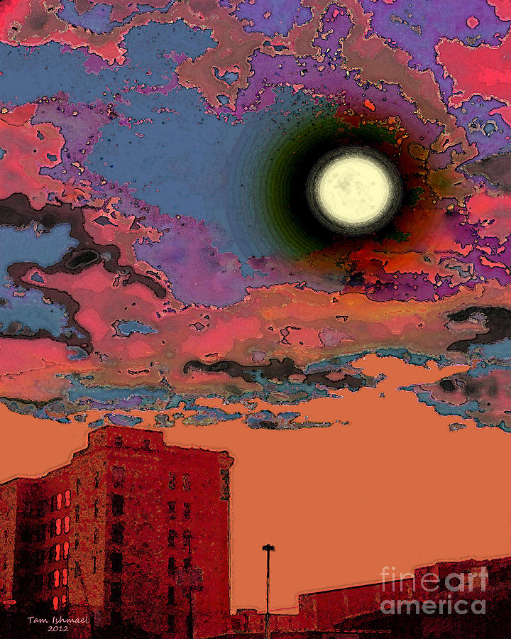 End Of The Day Digital Art