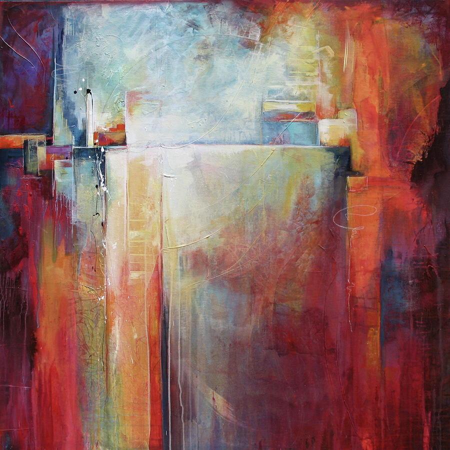 Art portfolio karen o 39 neil abstract artworks art karen for Abstract art mural