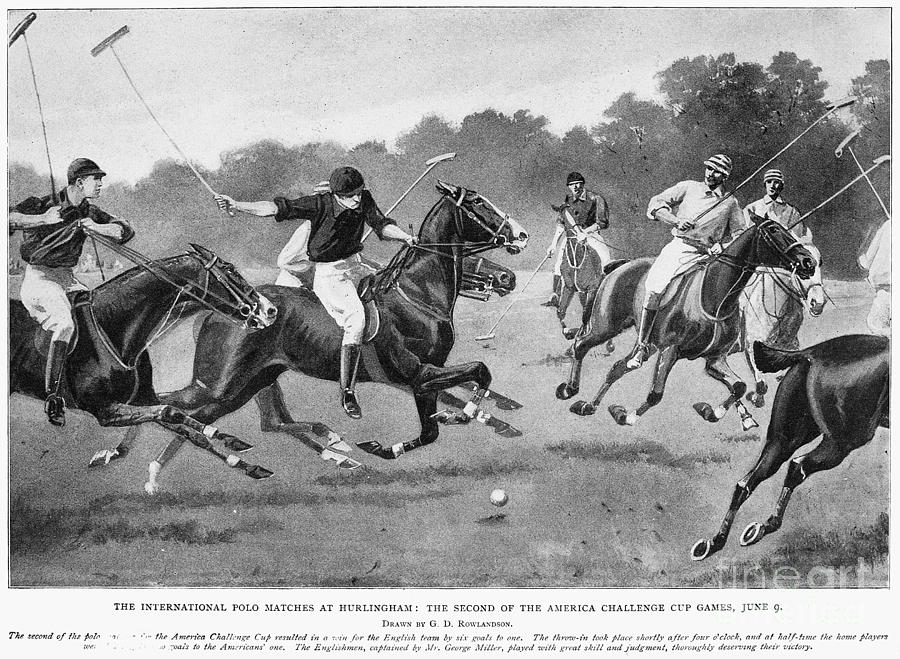 England: Polo, 1902 Photograph