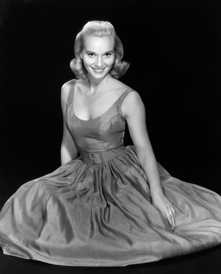 1950s Fashion Photograph - Eva Marie Saint, Ca. 1957 by Everett