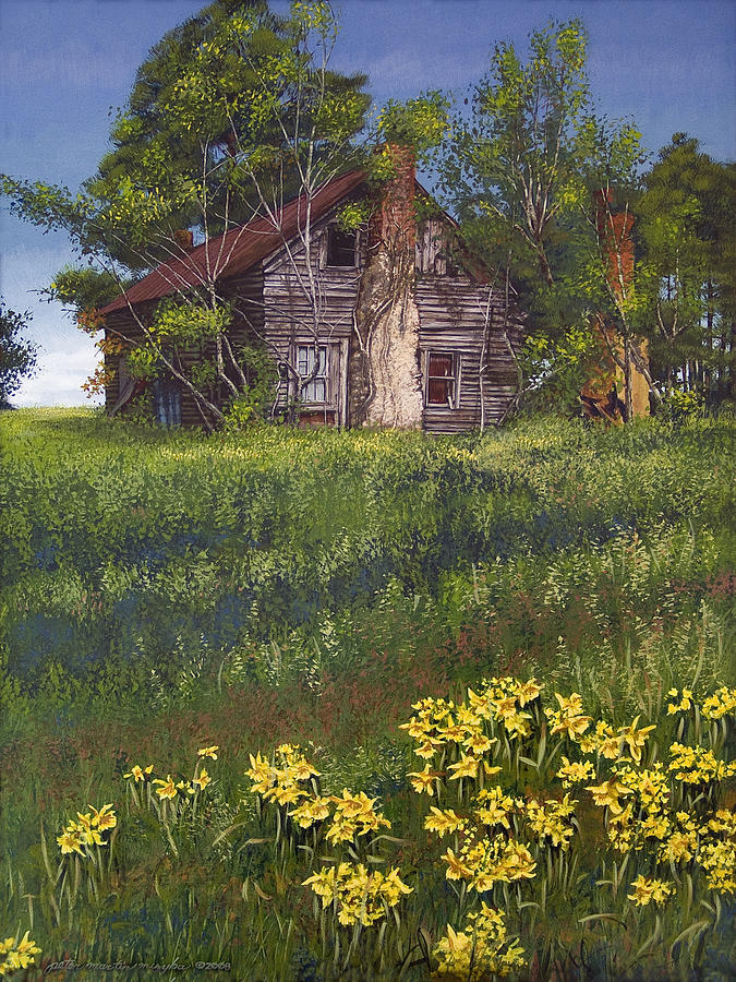 Fairplay Farmhouse Painting