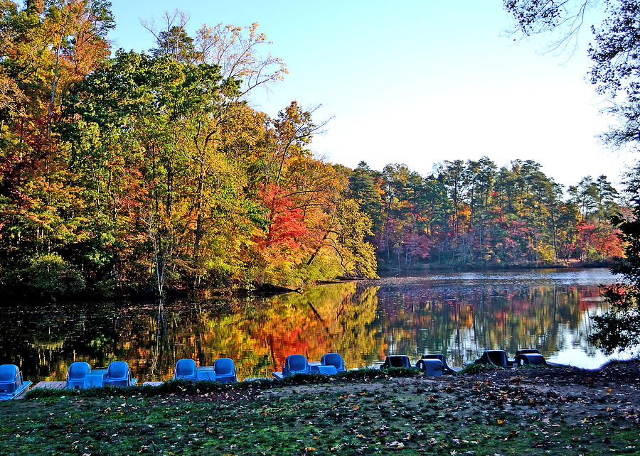 Fall At The Lake Photograph