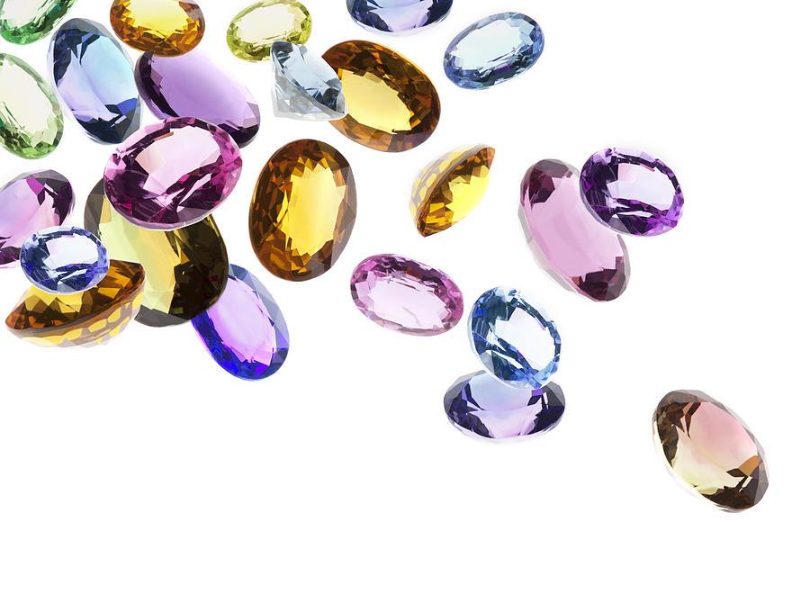 Falling Gems Photograph