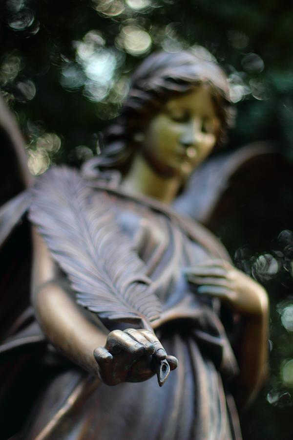 Angel Photograph - Farewell  by Marc Huebner