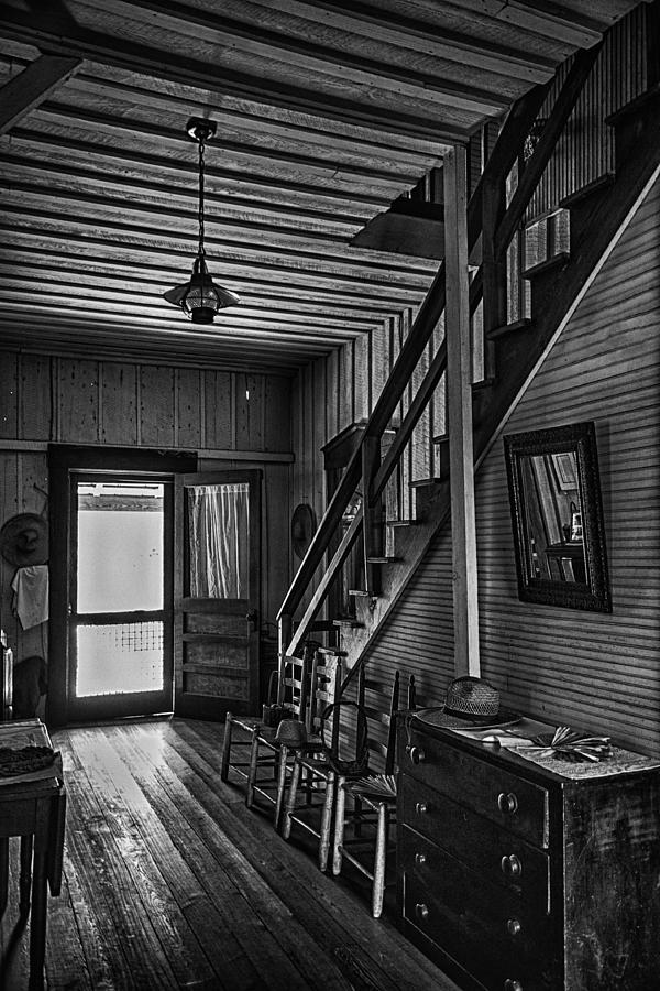 Farmhouse Entry Hall And Stairs Photograph