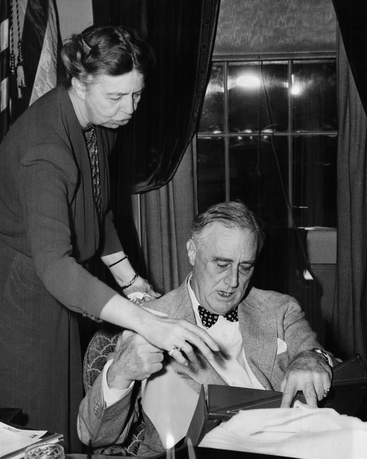 Fdr Presidency. First Lady Eleanor Photograph