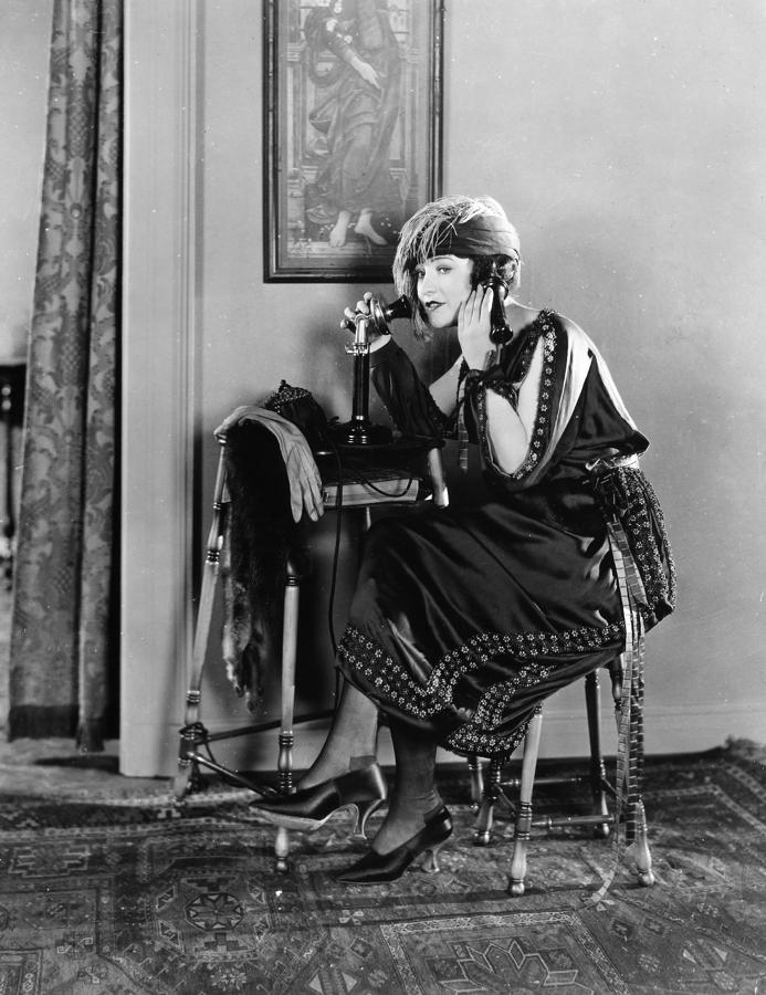 Film Still: Telephones Photograph  - Film Still: Telephones Fine Art Print