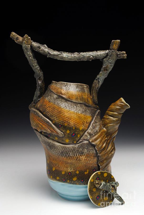 Fish Teapot Sculpture