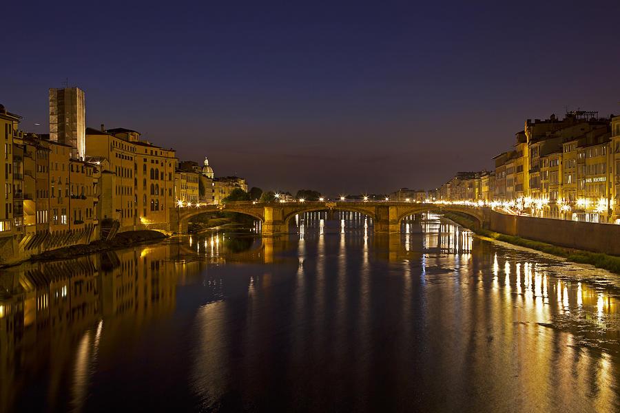 Bridge Photograph - Florence - Ponte San Trinita by Joana Kruse