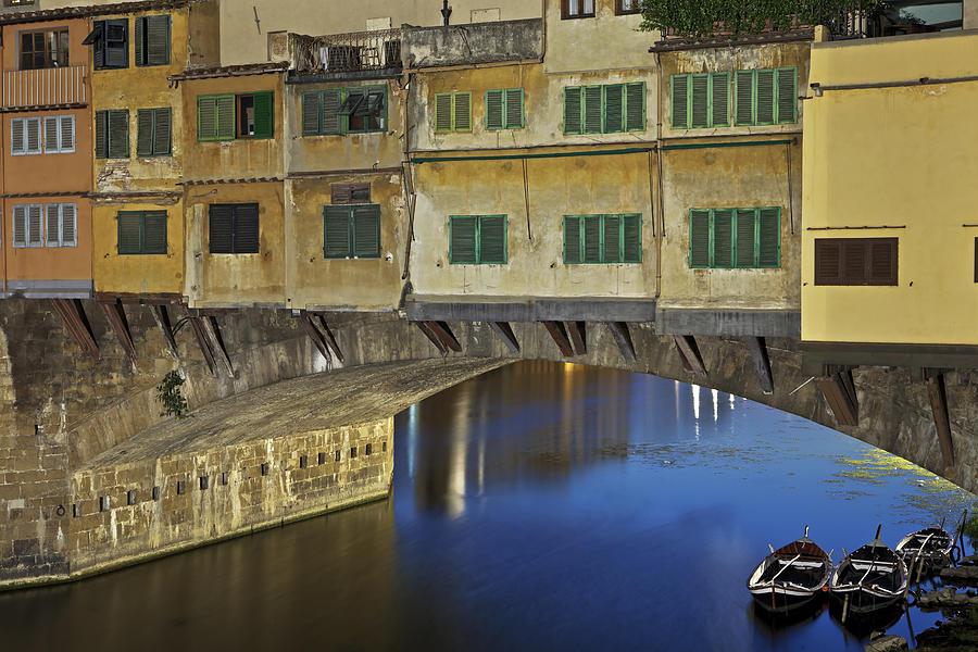 Florence Photograph - Florence - Ponte Vecchio by Joana Kruse