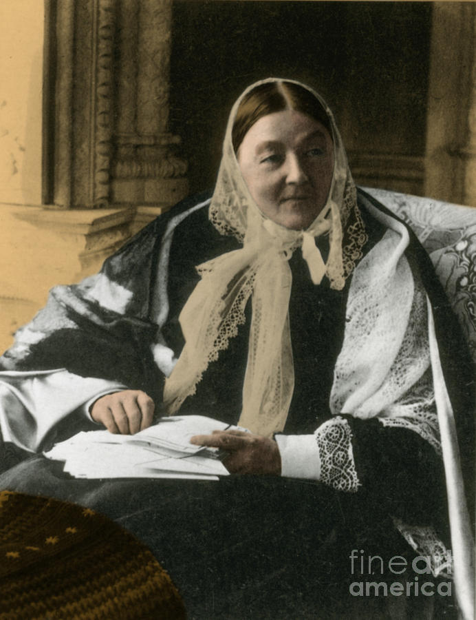 Florence Nightingale, English Nurse Photograph