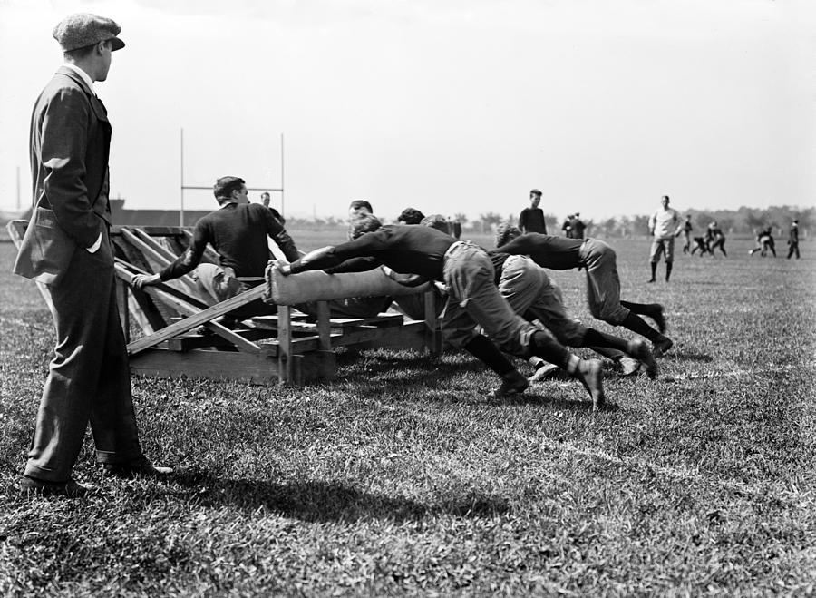 Football, Harvard Football Team Photograph
