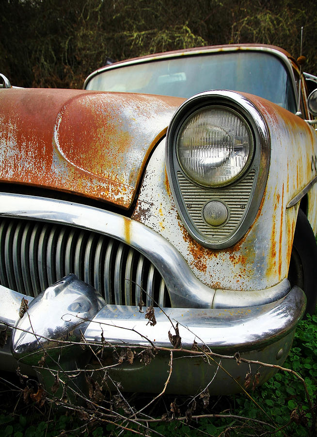 Forgotten Buick Photograph